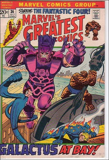 Marvel's Greatest Comics 36-A by Marvel