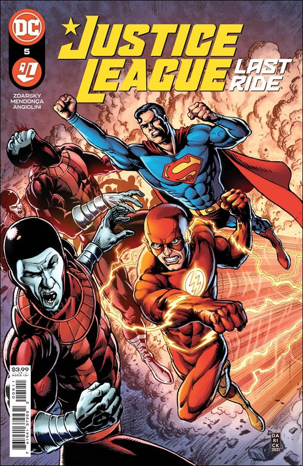 Justice League: Last Ride 5-A by DC