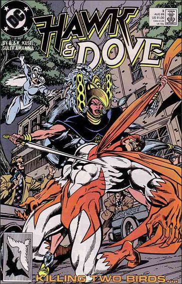 Hawk and Dove (1989) 3-A by DC