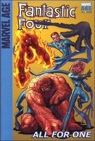 Target Marvel Age Fantastic Four: All for One 1-A by Marvel