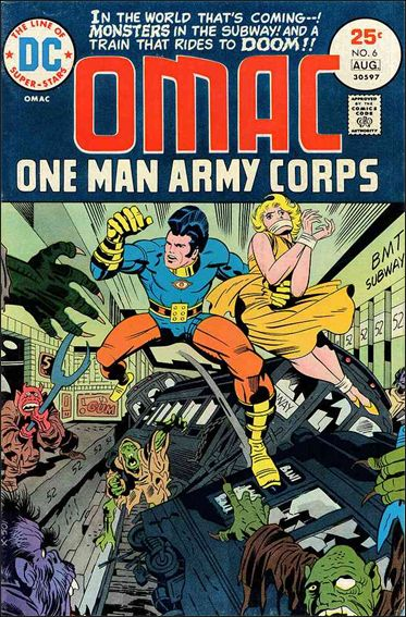 OMAC (1974) 6-A by DC