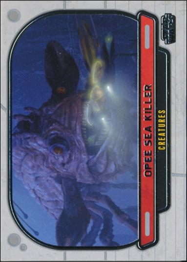 Star Wars Galactic Files (Base Set) 299-A by Topps