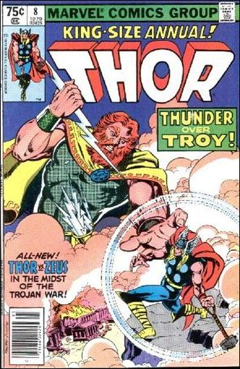 Thor Annual (1966) 8-A by Marvel