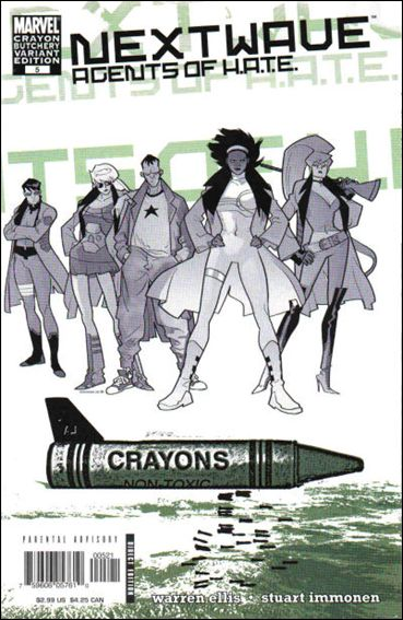 Nextwave: Agents of H.A.T.E. 5-B by Marvel