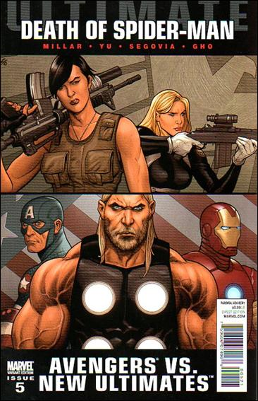 Ultimate Avengers vs New Ultimates 5-B by Marvel