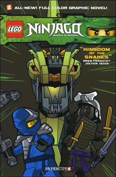 LEGO Ninjago Masters of Spinjitzu 5-A by Papercutz