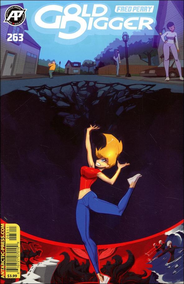 Gold Digger (1999) 263-A by Antarctic Press