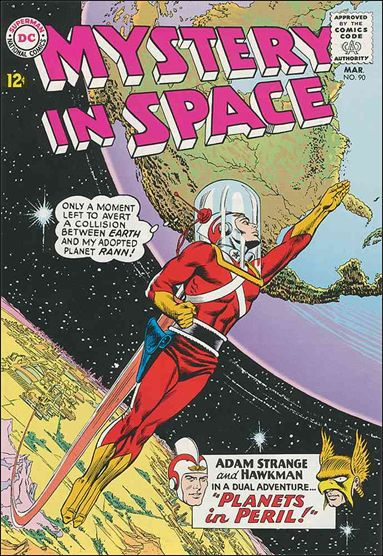 Mystery in Space (1951) 90-A by DC