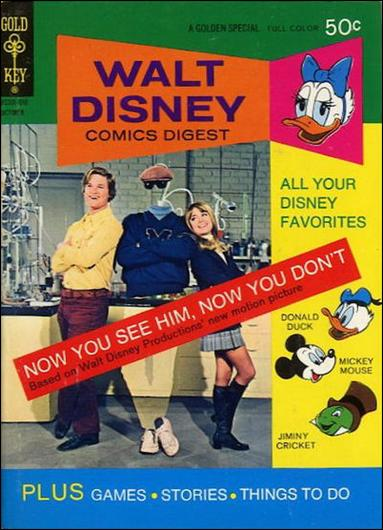 Walt Disney Comics Digest 37-A by Gold Key
