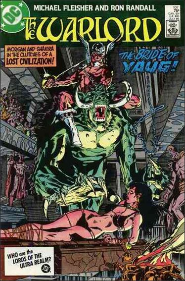 Warlord (1976) 107-A by DC