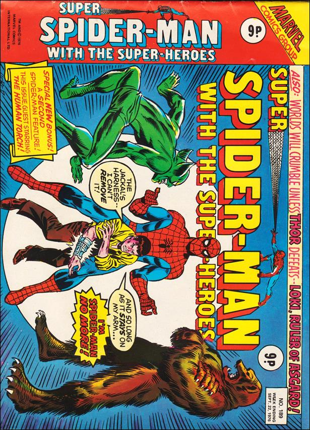 Spider-Man: Comics Weekly (UK) 189-A by Marvel UK