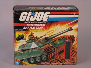 "G.I. Joe: A Real American Hero 3 3/4"" Basic Vehicles and Playsets MOBAT (Motorized Battle Tank) by Hasbro"