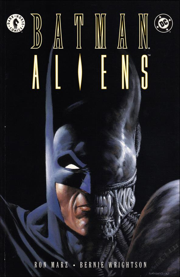 Batman/Aliens 1-A by Dark Horse