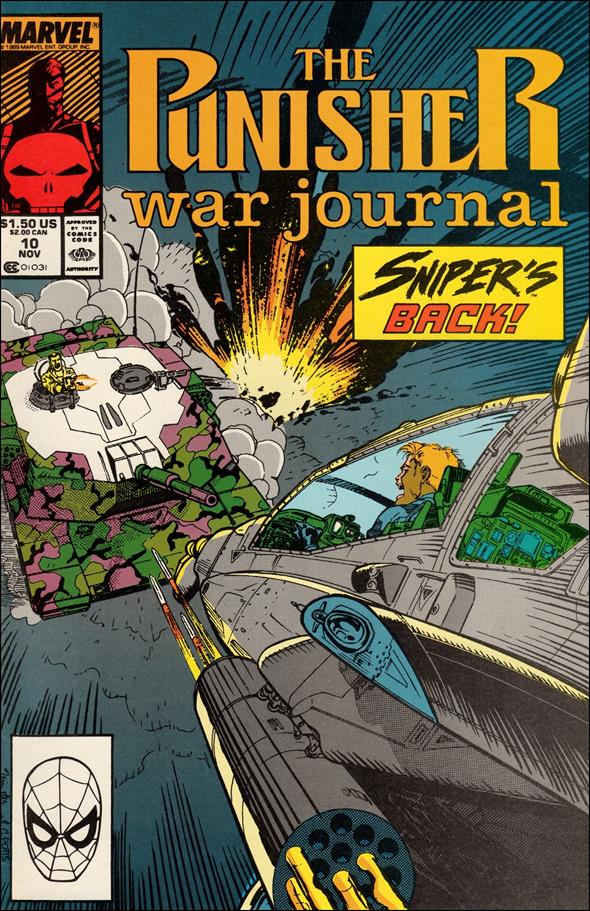Punisher War Journal (1988) 10-A by Marvel