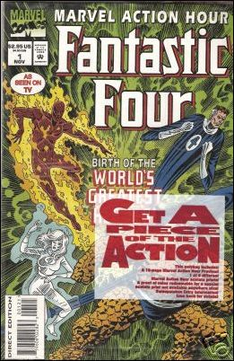 Marvel Action Hour, Featuring The Fantastic Four 1-B by Marvel
