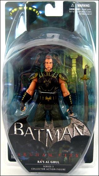 Batman: Arkham City (Series 3)  Ra's al Ghul by DC Collectibles