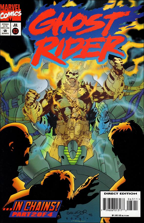 Ghost Rider (1990) 63-A by Marvel