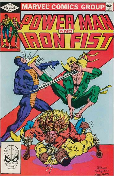 Power Man and Iron Fist (1978) 84-A by Marvel
