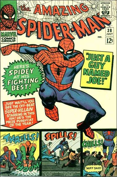 Amazing Spider-Man (1963) 38-A by Marvel