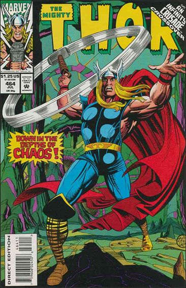 Thor (1966) 464-A by Marvel