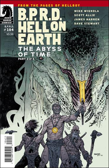 B.P.R.D. Hell on Earth (2012) 104-A by Dark Horse