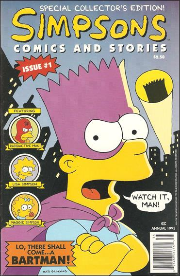Simpsons Comics and Stories 1-C by Welsh Publishing Group
