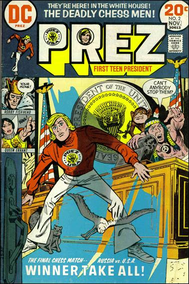 Prez (1973) 2-A by DC