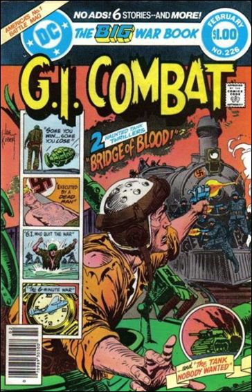 G.I. Combat (1952) 226-A by DC