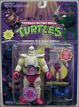 Teenage Mutant Ninja Turtles (1988) Krang's Android body