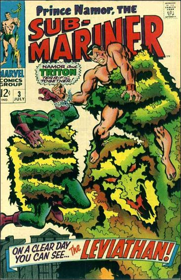 Sub-Mariner (1968) 3-A by Marvel