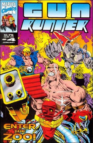 Gun Runner (UK) 4-A by Marvel UK