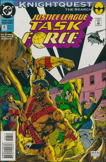 Justice League Task Force 6-A by DC