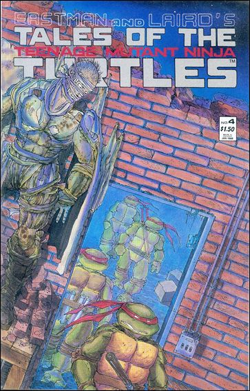Tales of the Teenage Mutant Ninja Turtles 4-A by Mirage