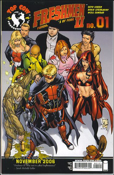 Freshmen (2006) 1-B by Top Cow