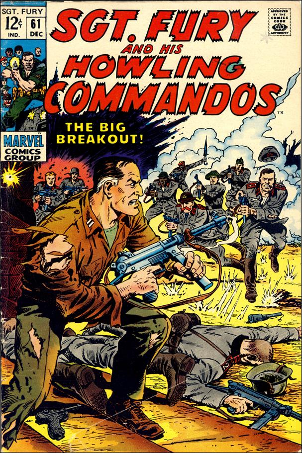 Sgt. Fury and His Howling Commandos 61-A by Marvel