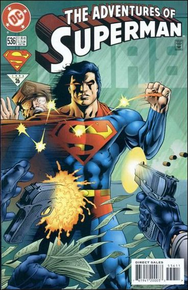 Adventures of Superman (1987) 536-A by DC