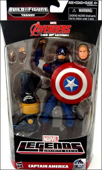 Marvel Legends Infinite: Avengers (Thanos Series) Captain America (Age of Ultron) by Hasbro