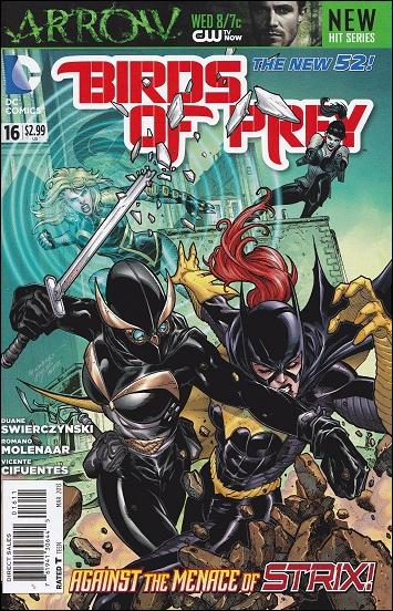 Birds of Prey (2011) 16-A by DC