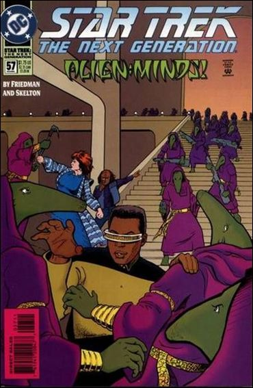 Star Trek: The Next Generation (1989) 57-A by DC