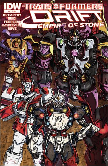 Transformers: Drift - Empire of Stone 4-A by IDW
