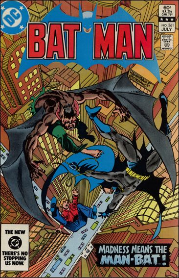 Batman (1940) 361-A by DC