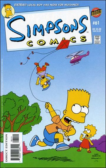 Simpsons Comics 61-A by Bongo