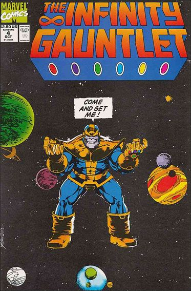 Infinity Gauntlet (1991) 4-A by Marvel