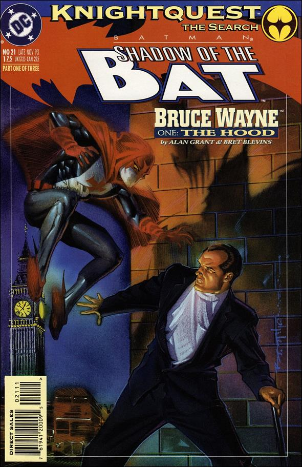 Batman: Shadow of the Bat 21-A by DC