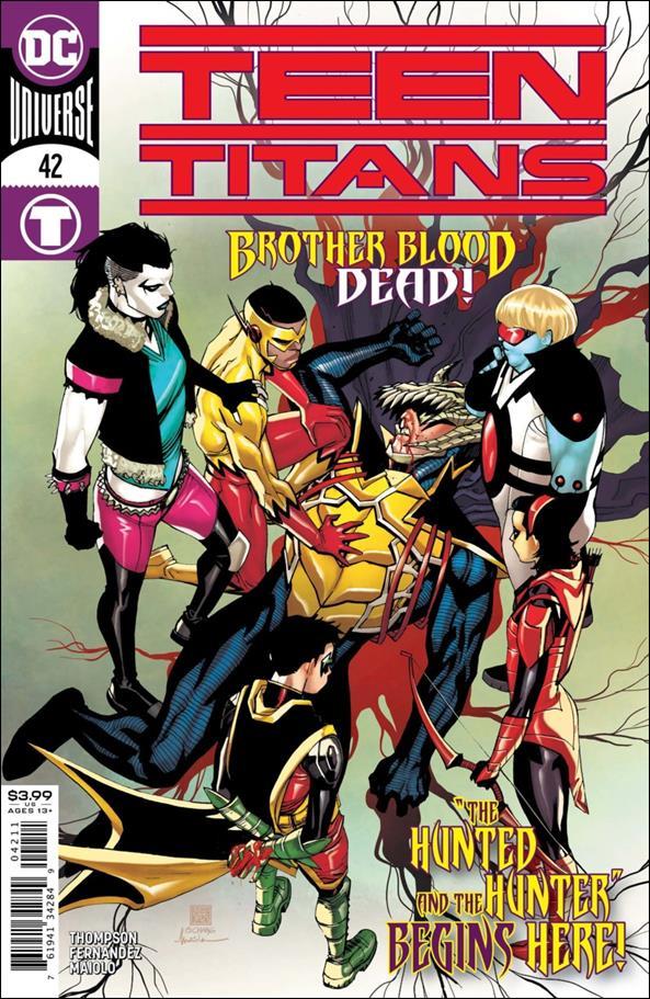 Teen Titans (2016) 42-A by DC