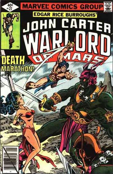John Carter, Warlord of Mars 27-A by Marvel