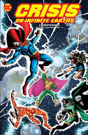 Crisis of Infinite Earths Companion Deluxe Edition 3-A
