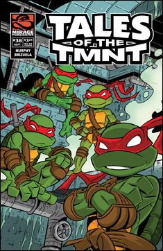 Tales of the TMNT 38-A by Mirage