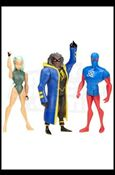 DC Universe: Justice League Unlimited - Fan Collection (3-Packs) Future Static, Aquagirl and Micron