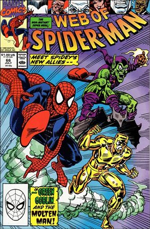 Web of Spider-Man (1985) 66-A